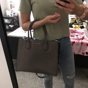 Michael Kors Mercer Leather Crossbody Bag
